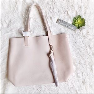 New Light Pink Medium Tote Bag